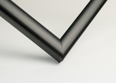 Рамка А4 пластиковая цвет - черный, профиль - квадрат 13 мм