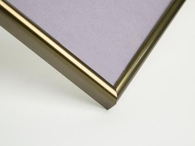 Рамка А4, алюминиевая, ширина - 7 мм, цвет - бронза