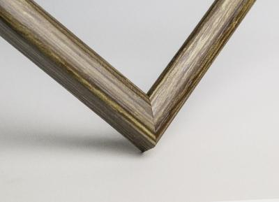 Рамка А4 пластиковая цвет - непрокрашенное дерево, профиль - квадрат 13 мм