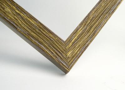 Рамка А4 пластиковая, цвет дерево фактурное тигровое, профиль - квадрат 22 мм