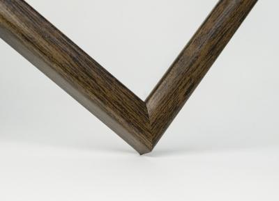 Рамка А4 пластиковая цвет -шоколадное дерево, профиль - квадрат 13 мм