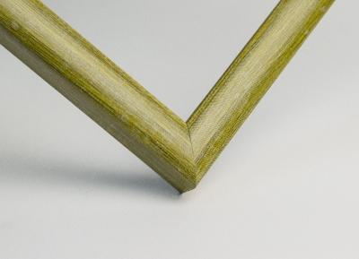 Рамка А4 пластиковая цвет - оливковое дерево, профиль - квадрат 13 мм