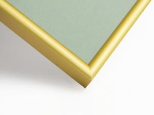 Рамка А4 (21x30) алюминиевая, ширина - 9 мм, цвет - золото матовое