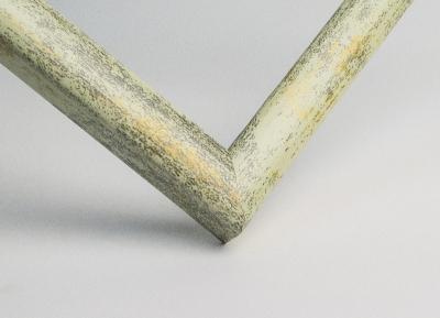 Рамка А4 пластиковая цвет - серо-зеленый состаренный, профиль - квадрат 13 мм